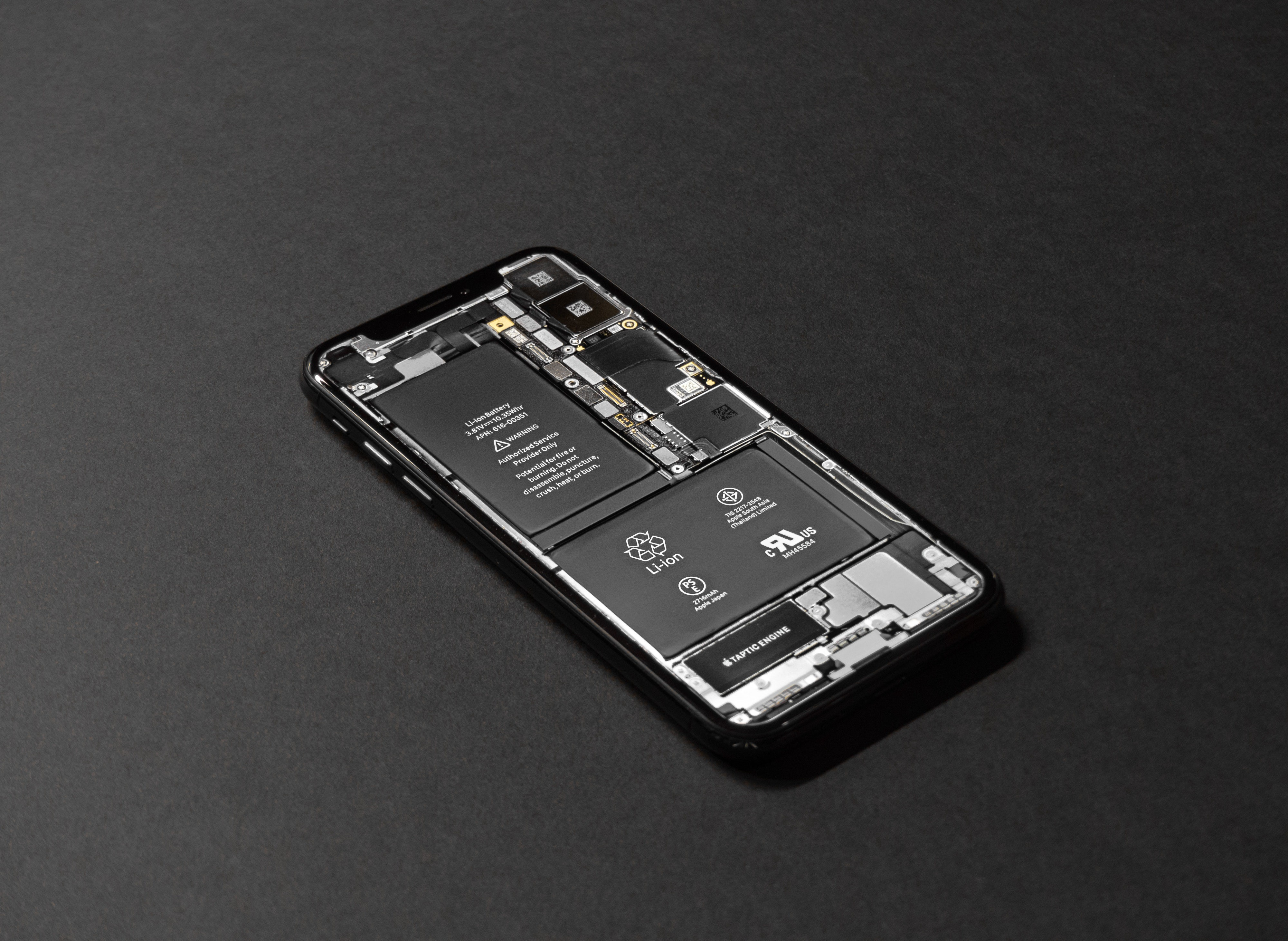 Li-Ion batteries found in most phones today.